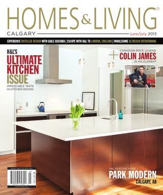 Homes Living Magazine Calgary June July 2013 Teaser