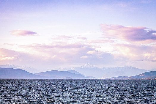 Art Calapatia - View of Howe Sound from Iona Beach
