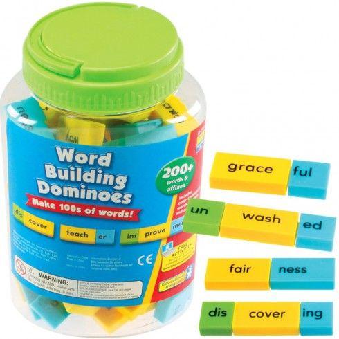 Refuerza las habilidades fonéticas con estos conjuntos codificados por colores atractivos. En estas fichas de dominó aparece la raíz de la p...