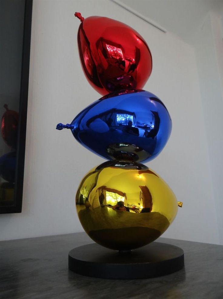 Philippe BERRY -3 Beaux Ballons- Epreuve d Artiste n1/4 BRONZE dlg Jeff Koons
