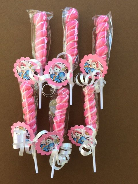 Disney Sheriff Callie birthday party favor by FunkieTreasures