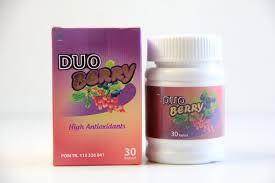 Duo berry (untuk Kulit putih, tubuh langsing, sudah BPOM)  Harga 100rb/pc