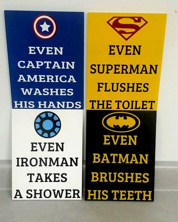 Batman Bathroom Sign: 17 Best Images About WordArt Treasures On Pinterest