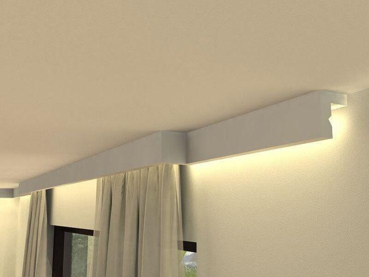 Gzyms -listwa oświetleniowa do zabudowy karnisza LKO3 1mb