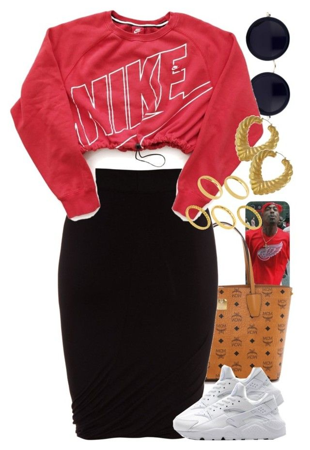 """Untitled #1406"" by power-beauty ❤ liked on Polyvore featuring The Row, MCM, T By Alexander Wang, NIKE and ASOS"