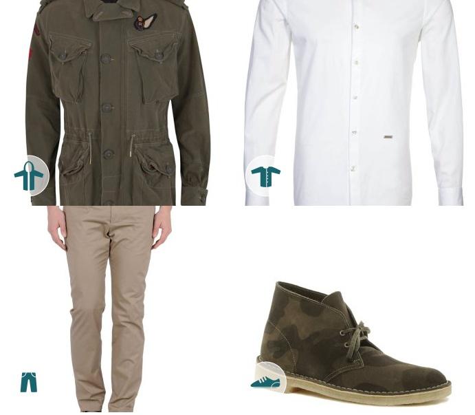 La moda #militar se impone en tu armario