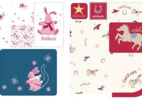 Steph Calvert/Baby Infant Graphics for OshKosh BGosh represented by Liz Sanders Agency