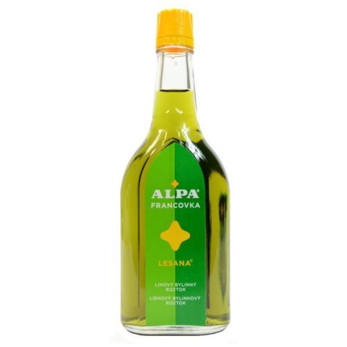 ALPA LESANA 160ml Joint Massage Rheumatic Pain Czech Alcohol Herbal Oil