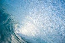Hollow waves at St Kilda Beach, Dunedin, New Zealand.