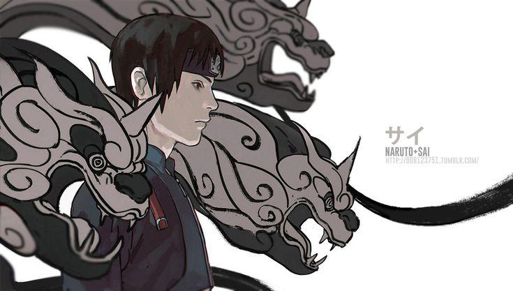 Sai from NARUTO | Naruto shippuden anime, Naruto, Anime naruto