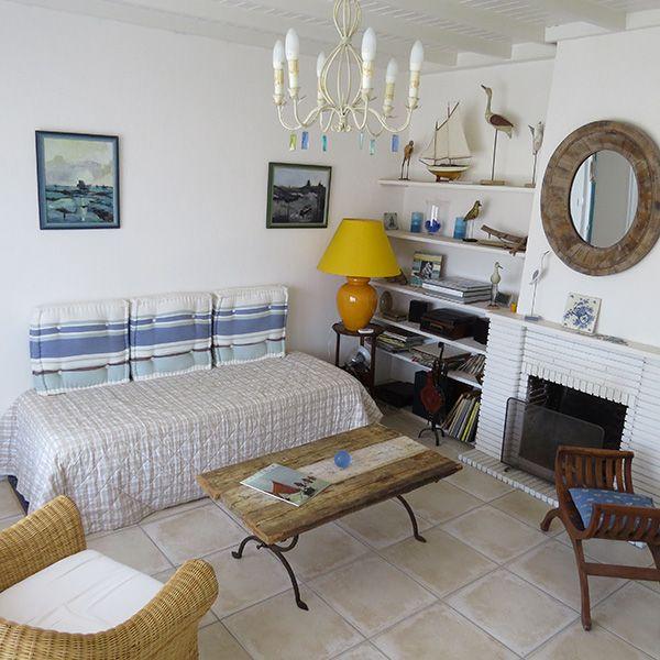 brin de palmier chambre d 39 h tes a noirmoutier le salon de la suite du palmier espace et. Black Bedroom Furniture Sets. Home Design Ideas