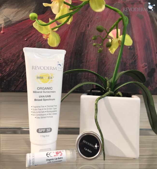 Sun protection is crucial to prevent signs of premature aging of the skin on your lips as it is to prevent premature signs of aging of the skin on your face and body. Revoderm suggests using our Hydrating Lip Balm and layering this with our Eclips Organic Zinc Lip Sunscreen. Always wear sunscreen, apply it on your skin every day.