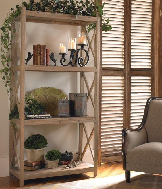 42+ Small farmhouse bookshelf type