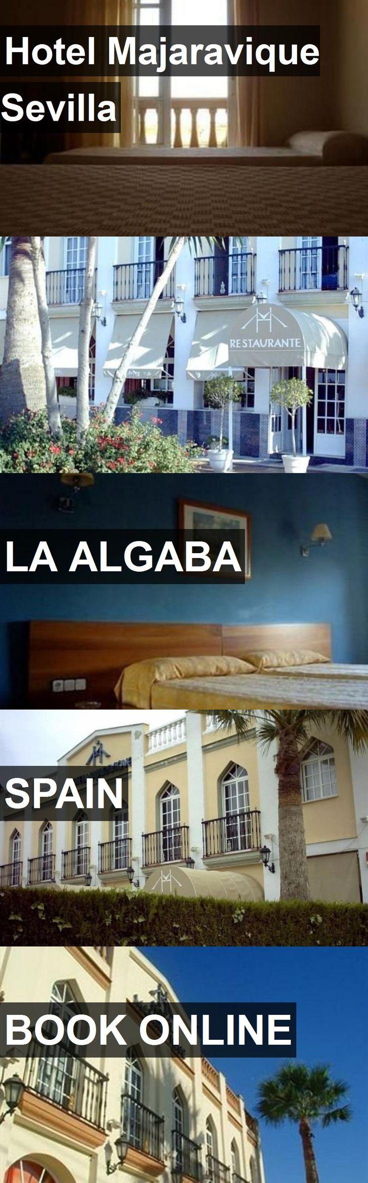 Hotel Majaravique Sevilla in La Algaba, Spain. For more information, photos, reviews and best prices please follow the link. #Spain #LaAlgaba #travel #vacation #hotel