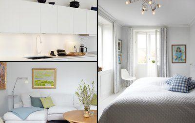 Pernilles forvandlede lejlighed: Fra brun til hvid