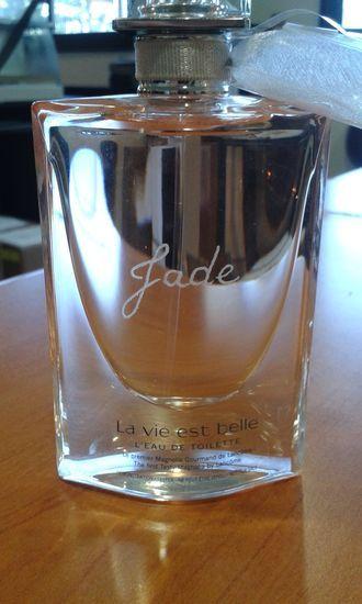 #flaconparfum#verre#personnalisé#gravure à la main