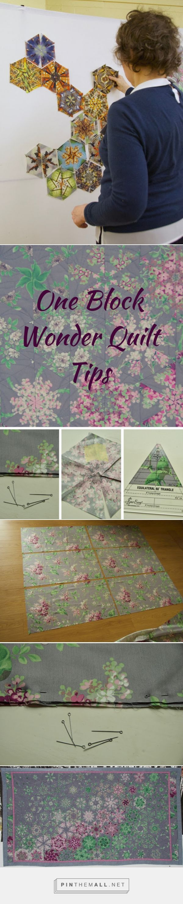 Quilt Art by Olena Pugachova: Tips Taken Away from ... One Block Wonder Workshop - created via https://pinthemall.net