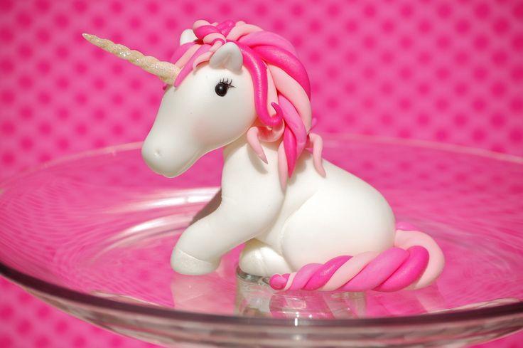 Unicorn based on My Little Pony figure.