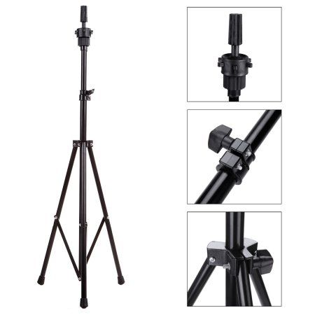Free Shipping. Buy Abody Adjustable Hairdressing Training Wig Tripod Mannequin Head Stand at Walmart.com