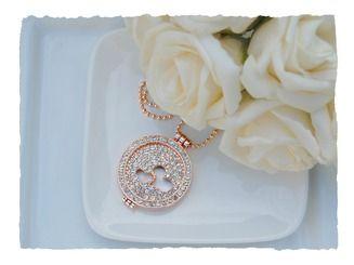 Glittery rose locket http://www.silverhavenjewellery.com/gift-ideas/glittery-heart-coin-locket-1/