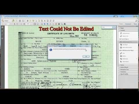 Sheriff Joe Arpaio Cold Case Posse Conclusion Video On Obama Birth Certificate