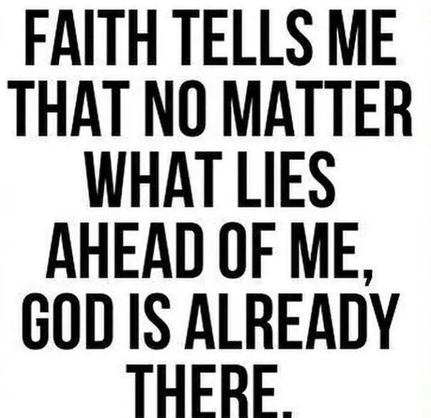 Amen! Faith is like gasoline to a car. You must fill the tank to get optimal performance. When your faith begins to get low, remember to open your soul and get a re-fill. You will only get half assed results with half assed faith.