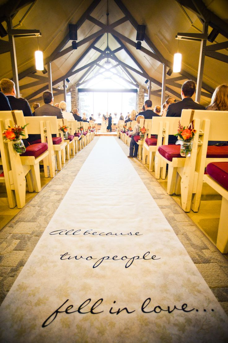 Custom Aisle Runner Diy Bride Vinyl Decal Applied To