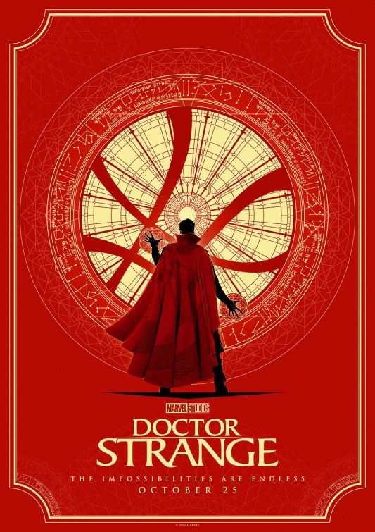 Doctor Strange - Poster artwork by Matt Ferguson