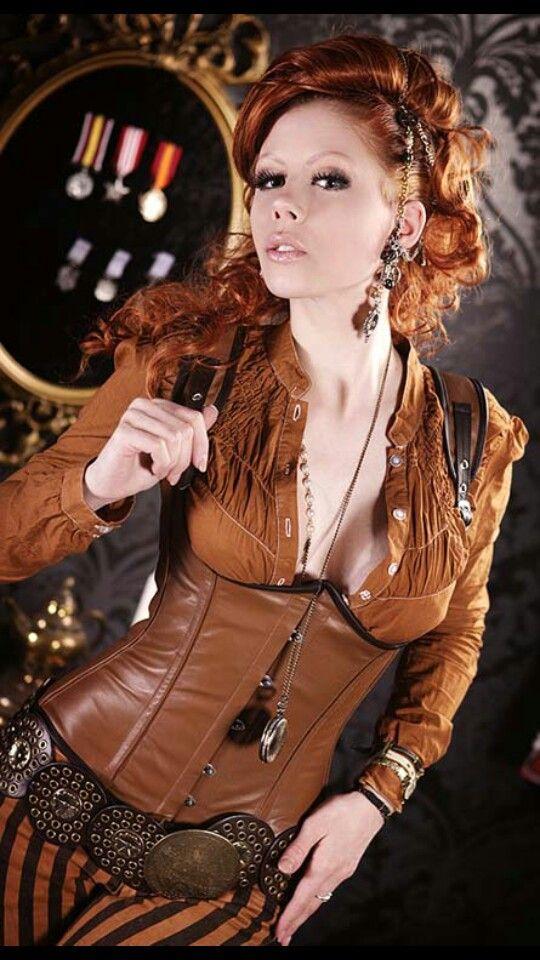 Fun classy western steampunk clothes pinterest marguerite cosplay et imaginaire - Steampunk style vestimentaire ...