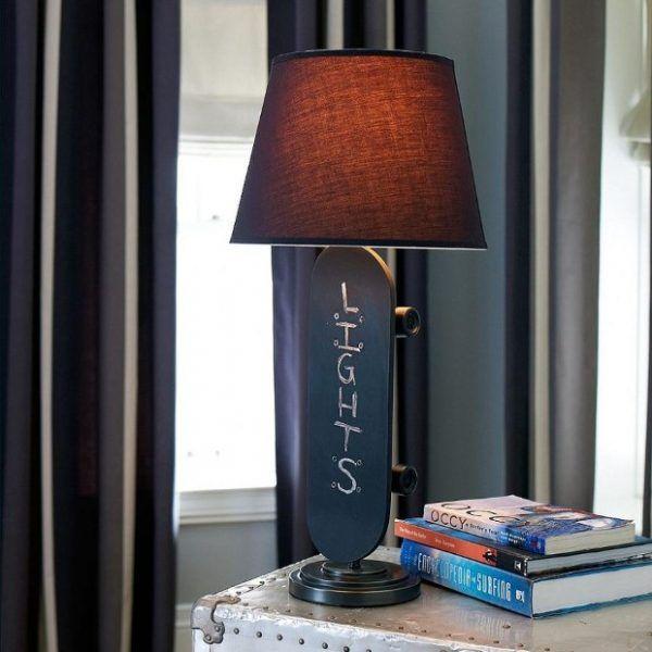 Die besten 25+ Skateboard lampe Ideen auf Pinterest Industrie - moderne lampen fur wohnzimmer