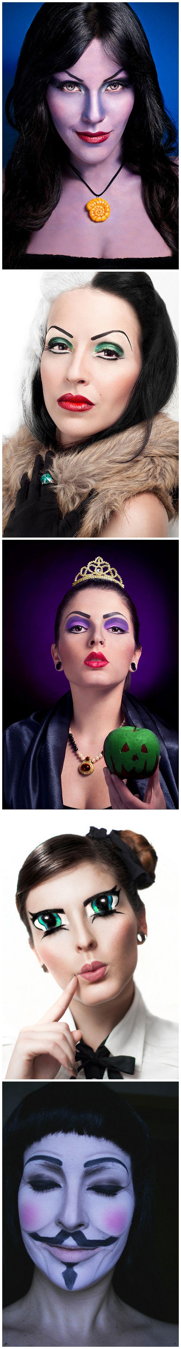 Makeup Queen, Andrea Martini from Venezuela #Disney #Costume #Cosplay