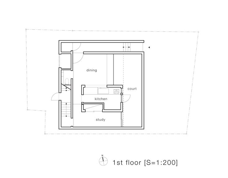 House-T,First Floor Plan