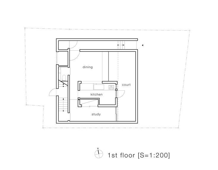 House-T,First Floor Plan