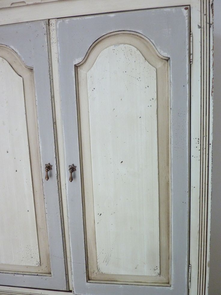 Doors Painted With Shades Of Off White Gray Cream Or
