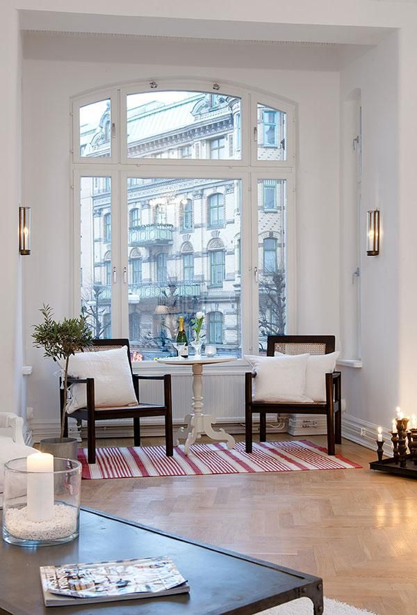 Stylish bright window (have one like this at home <3) l #window