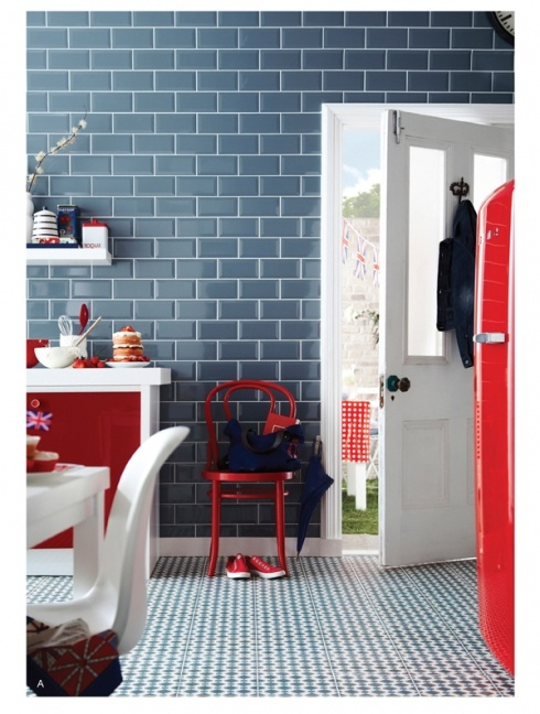 Don't waste your money at Topps Tiles when you can get the exact same tile from Walls and Floors for £10 less a Sqm! http://www.wallsandfloors.co.uk/catrangetiles/brick-metro-tiles/metro-brick-200/hatton-cross-blue-mist-gloss-metro-200x100-tiles/19242/