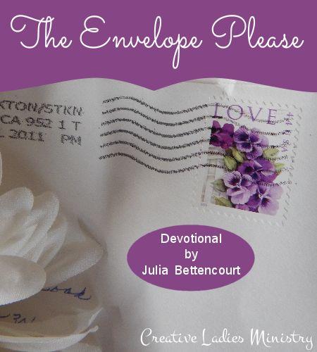 The Envelope Please - Gods Love Devotional for Christian ...