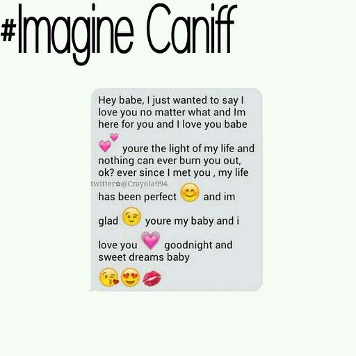 Taylor Caniff // Goodnight Text || #ImagineCaniff