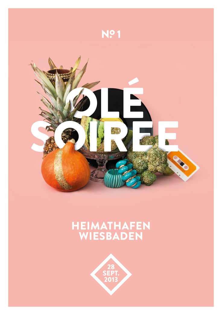 olé soiree - poster