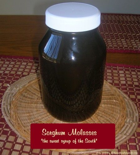 Sorghum-the sweet syrup of the South!
