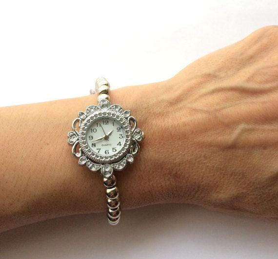 Reloj De Pulsera Reloj Vintage Reloj Con Abalorios Reloj Reloj