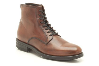 Mens Casual Boots - Safari Music in Tan Leather from Clarks shoes