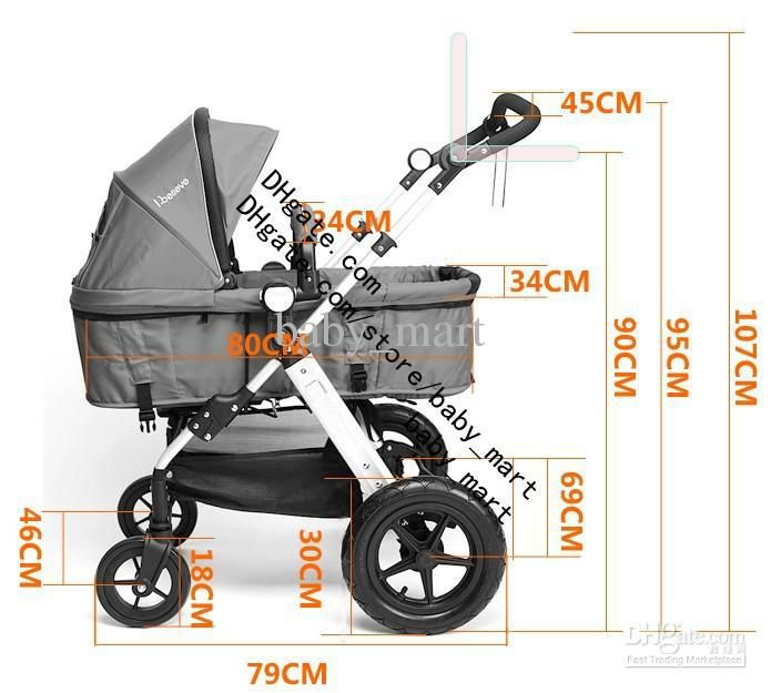 9 Best Stroller Dimension Images On Pinterest Pram Sets