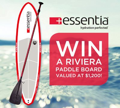 "<font size=""3"">Win a Riviera Paddle Board — A $1,200 Value!<br>  Plus great prizes selected daily for 88 days!</font>"