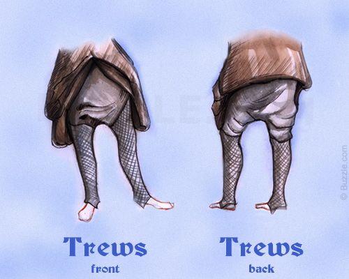 Irish Trews