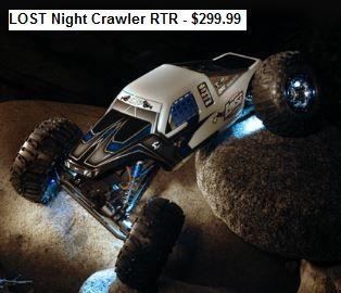 Losi Night Crawler RTR - $299.99