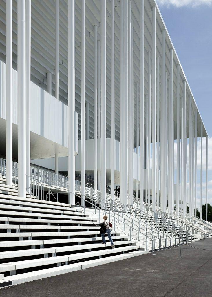Nouveau Stade de Bordeaux | Bordeaux, France | Herzog & de Meuron | photo ©…