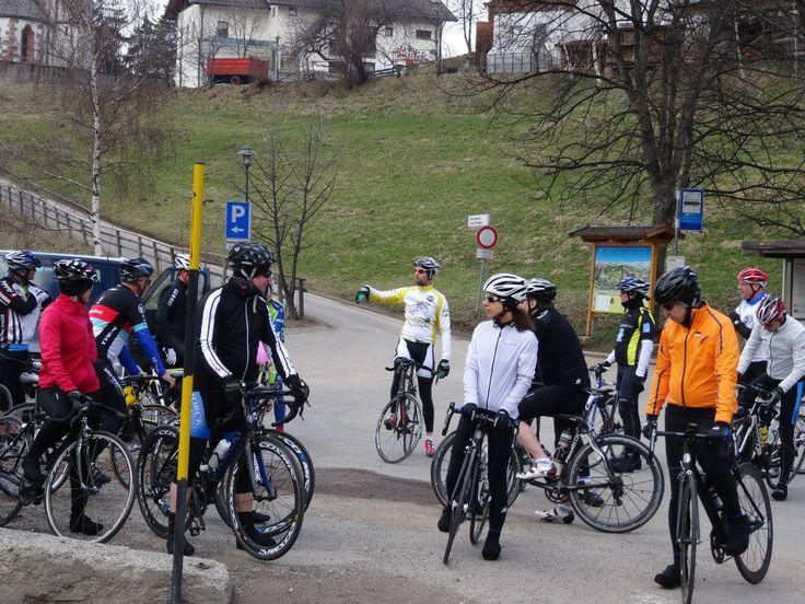 Wir sammeln und für die erste Rennradtour