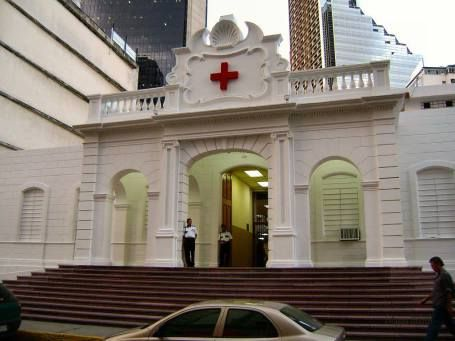 hspital Carlos J. Bello. sede de la cru< roja de caracas. en la av andrés bello casa no. 4 san bernardino. caracas.
