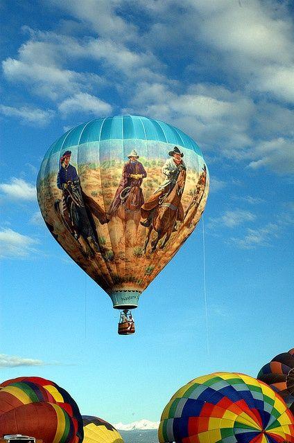 Western Spirit Hot Air Balloon, Erie Colorado Balloon Festival  http://www.pagosaspringsluxproperties.com
